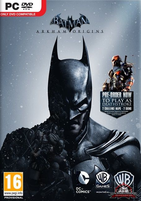 Обложка Batman: Arkham Origins [Update v2.0 EN] PC