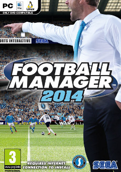 Обложка Football Manager 2014 PC