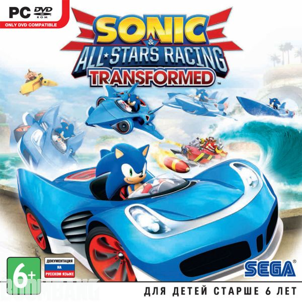 Обложка Sonic & All-Stars Racing Transformed PC