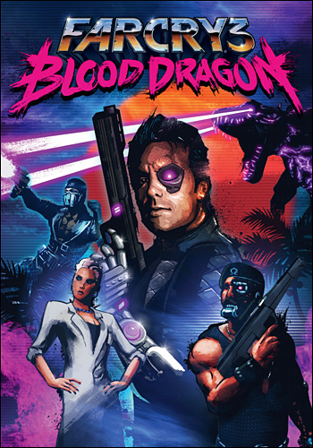 Обложка Far Cry 3: Blood Dragon PC