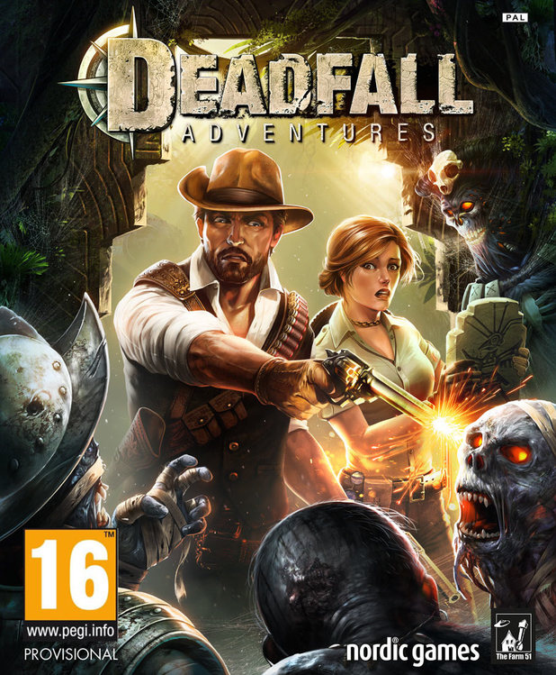 Обложка Deadfall Adventures PC