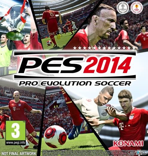 Обложка Pro Evolution Soccer 2014 PC