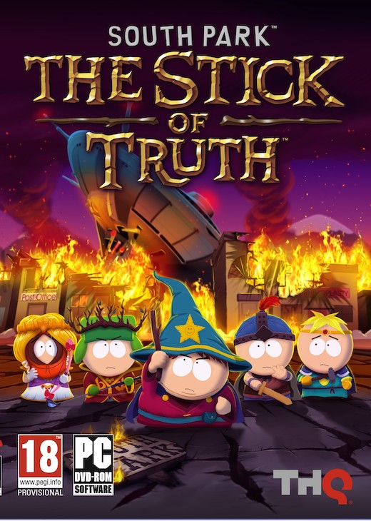 Обложка South Park: The Stick of Truth PC