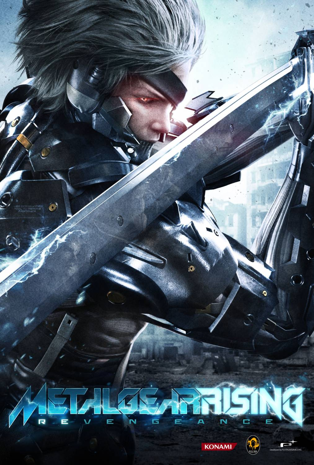 Обложка Metal Gear Rising: Revengeance PC