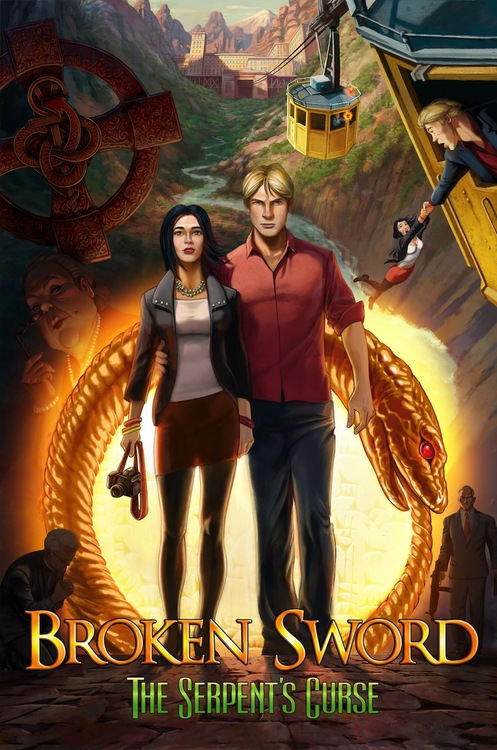 Обложка Broken Sword 5 - The Serpent's Curse. Episode 1 [v1.0 EN] PC